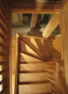 Sackville Oak Frames - Oak Staircase