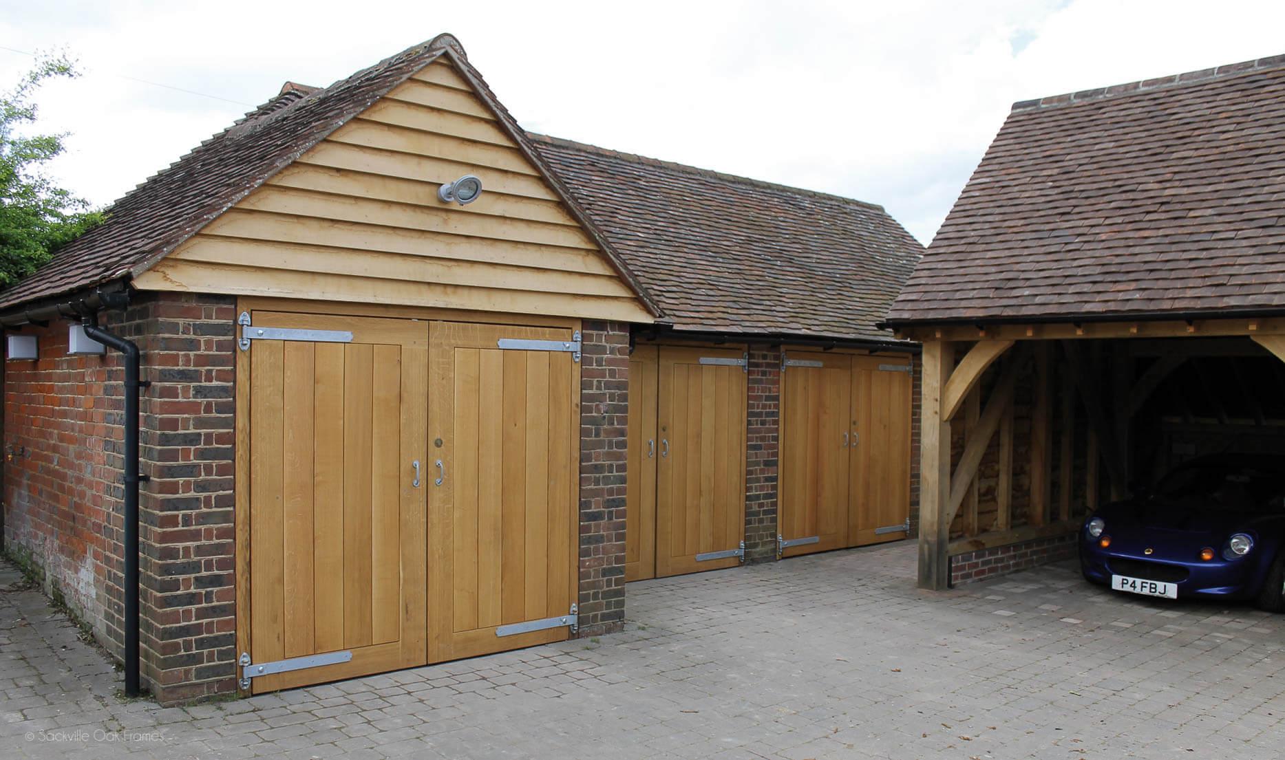 Sackville Oak Frames - Oak Framed Garages and Outbuildings