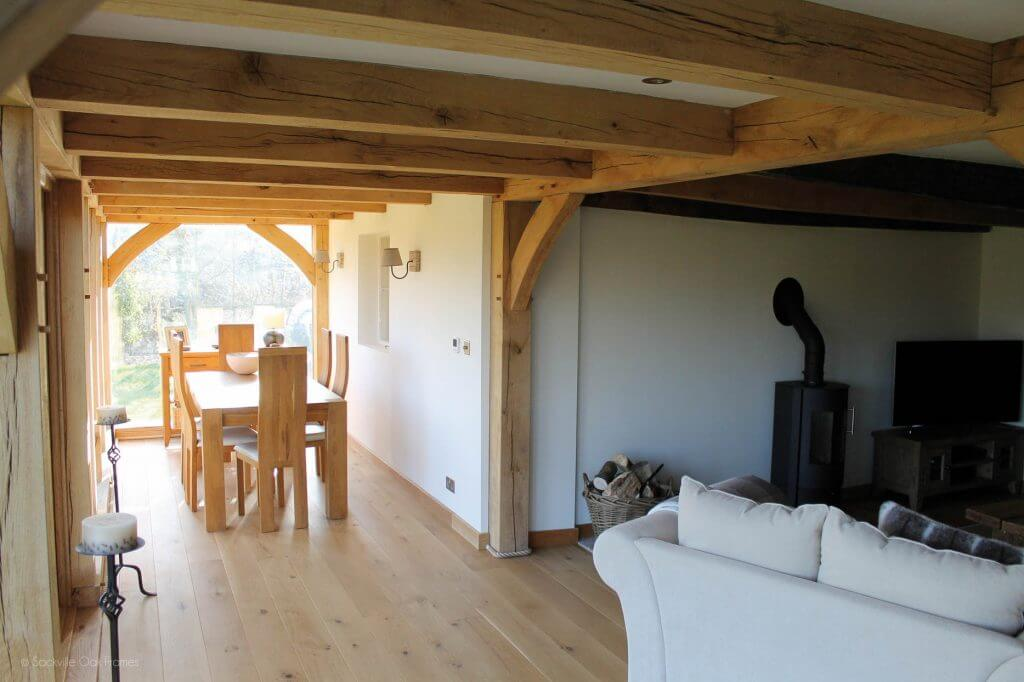 Sackville Oak Frames - Oak Frame Extension - Listed Property - Oak - Extension