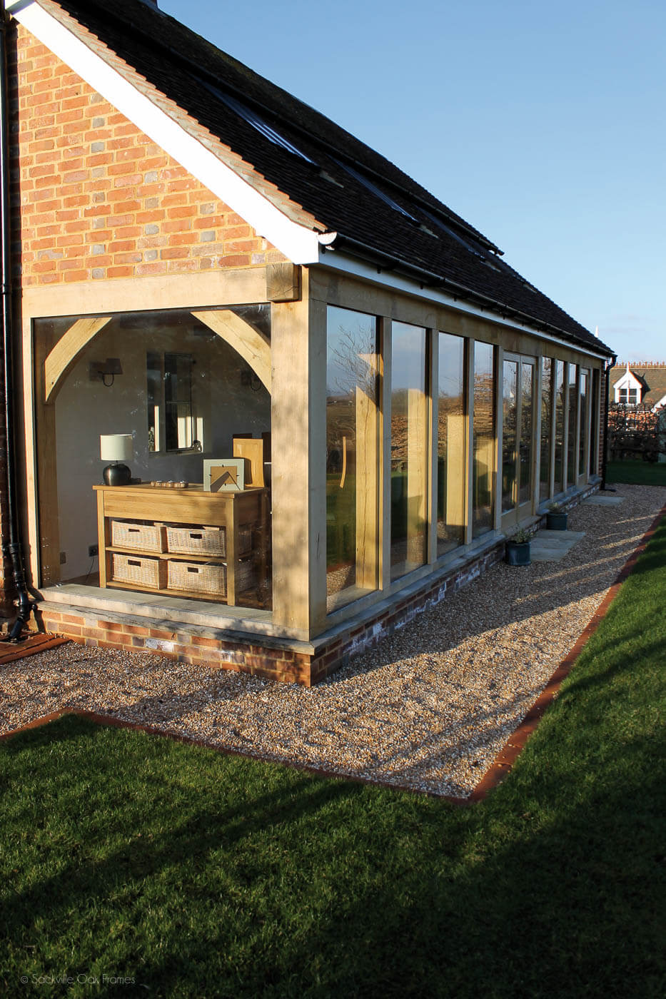 Sackville Oak Frames - Oak Framed Extension