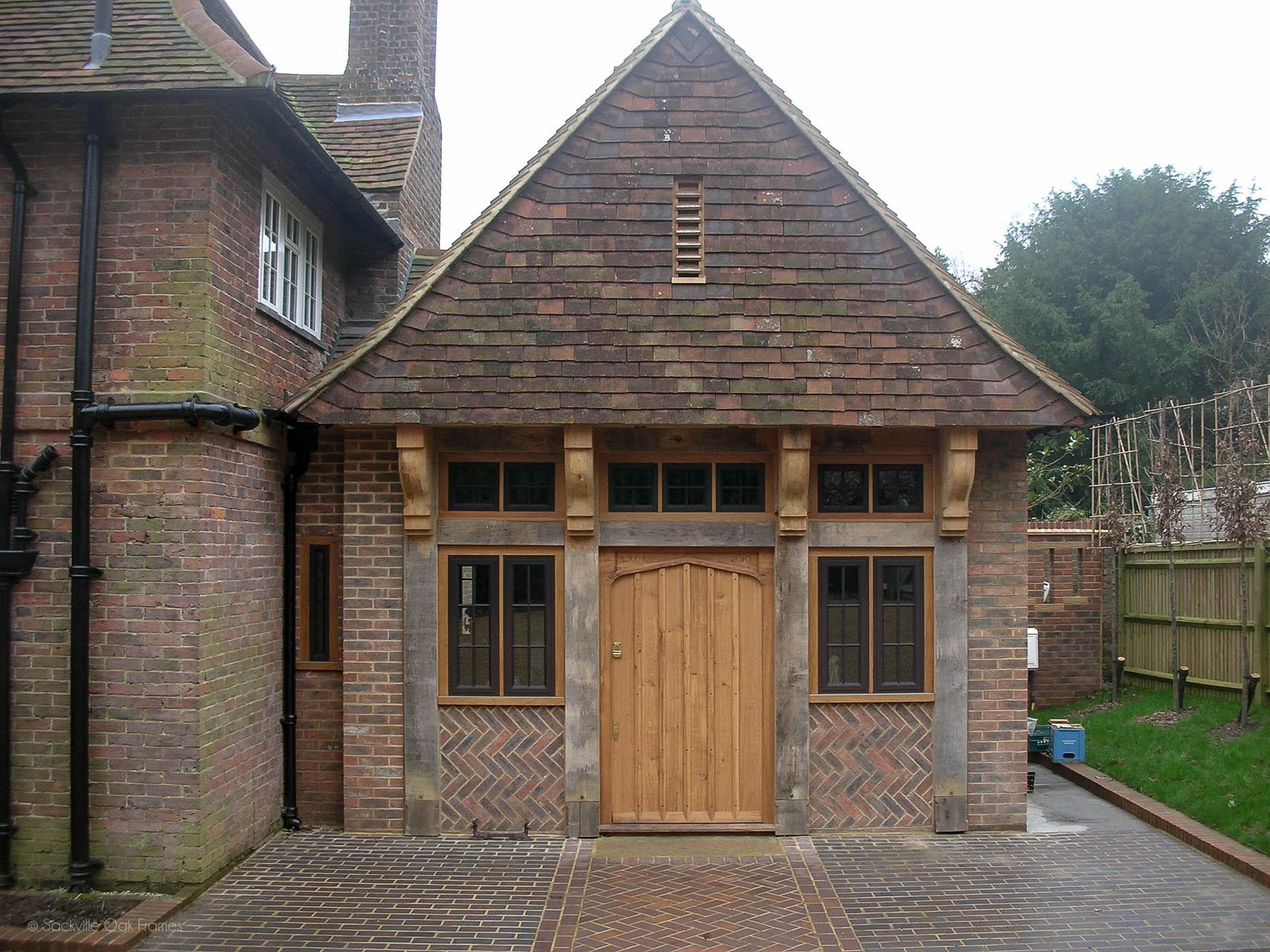 Sackville Oak Frames - Oak Framed Extension - Listed Property - Oak - Extension