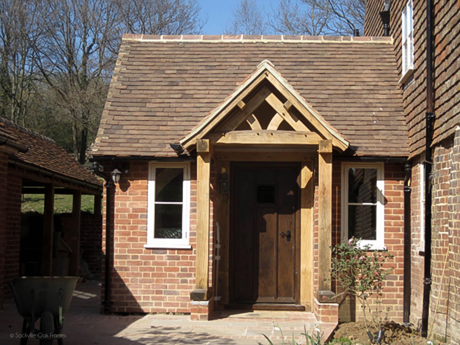 Sackville Oak Frames - Oak Framed Porches and Entrance Halls