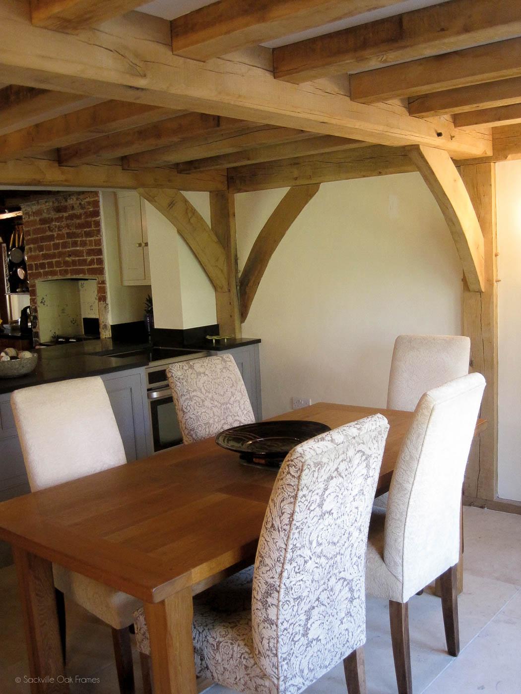 Sackville Oak Frames - Oak Framed Kitchen