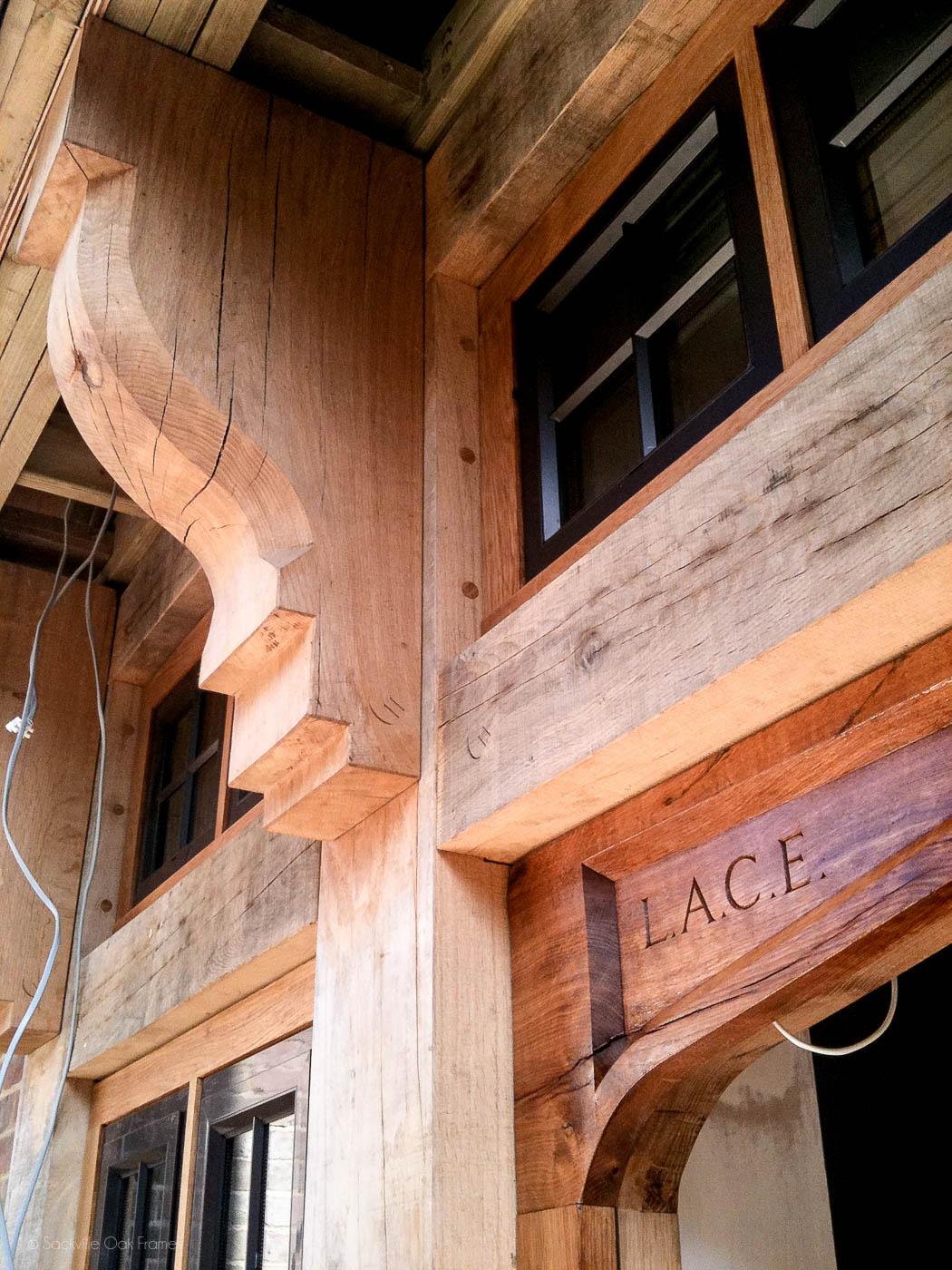 Sackville Oak Frames - Oak Door