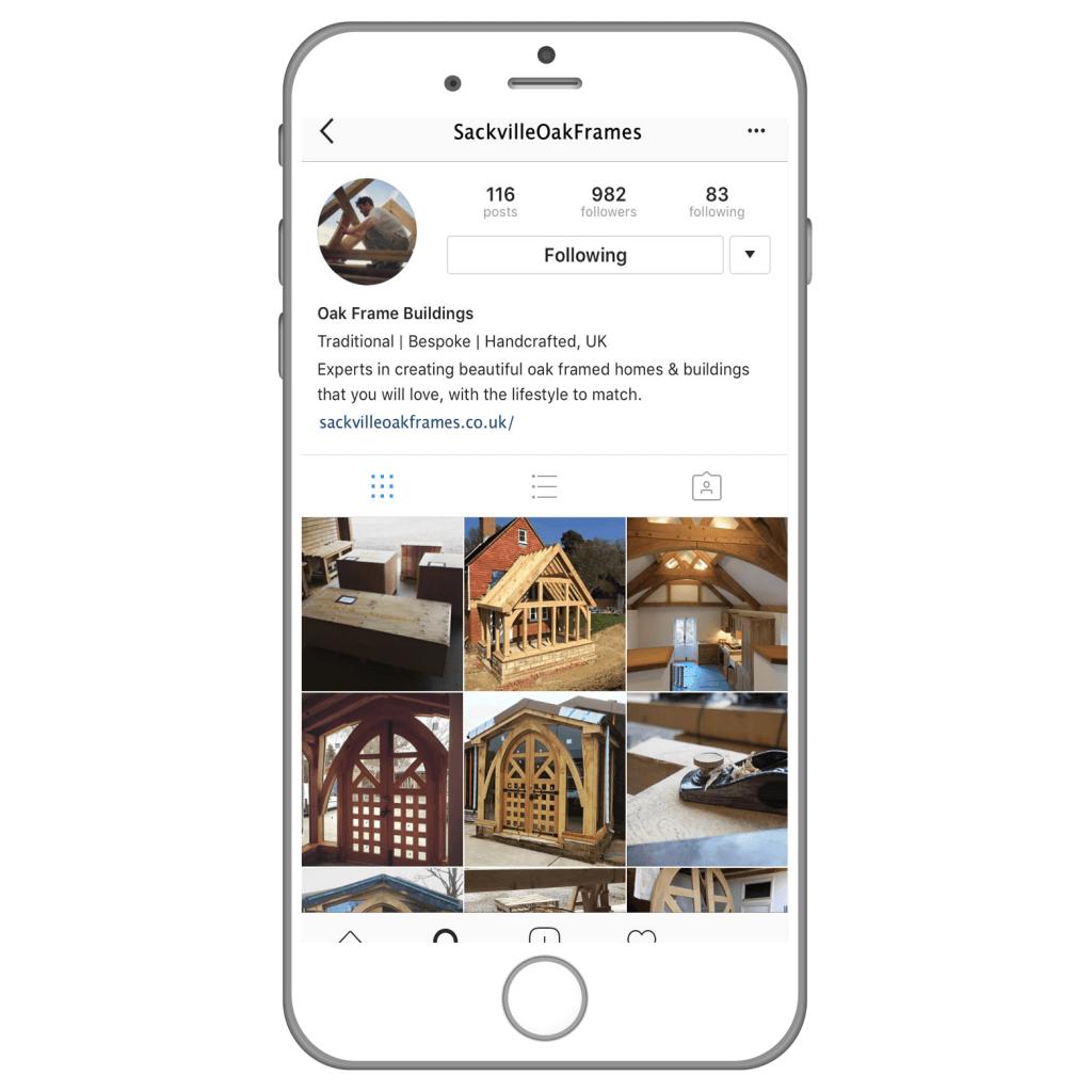 Sackville Oak Frames on Instagram