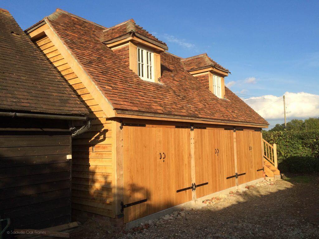Sackville Oak Frames - Oak Framed Garage