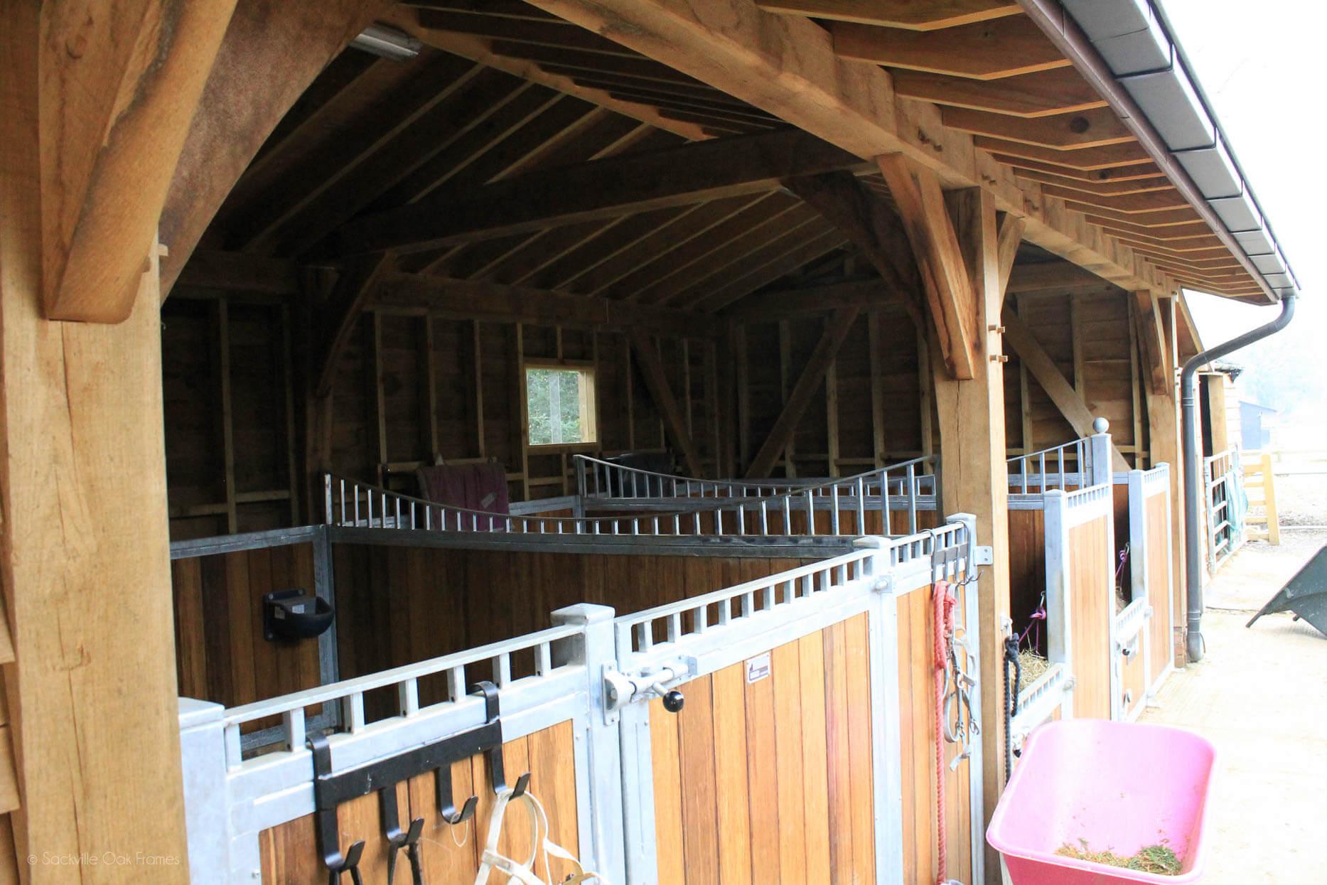 Sackville Oak Frames - Oak Framed Stables